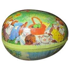 German Vintage Paper Mache Easter Egg