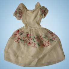 "Vintage Dress for your 20"" Cissy or Fashion Doll"