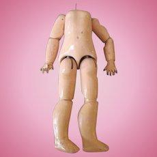 Antique French Bebe Jumeau Doll Body