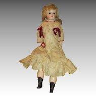 Antique Paper Mache Head Doll - Sweet Look