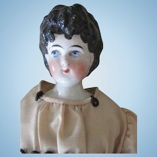 Antique China Head Doll with Pretty Face