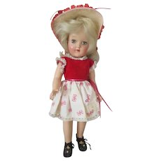 Vintage Ideal Toni P-90 Doll in Cute Outfit