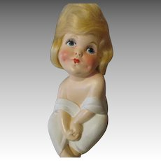 Whimsical Hy Mayer 1919 Tiss Me Doll - All Original