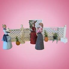 Miniature Doll House Garden Venue