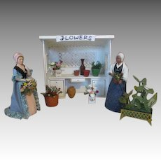 Miniature Doll House Flower Stand