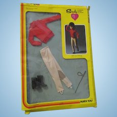 1978 Marx Toys Sindy Riding Outfit in Original Packaging