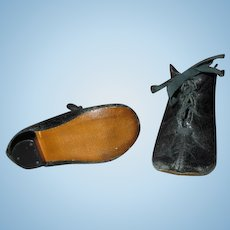 Antique Leather Doll Shoes for Your French Fashion Doll