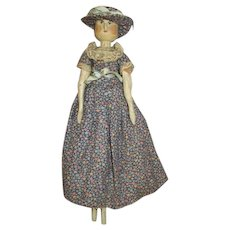 Absolutely Wonderful Peg Wooden Doll