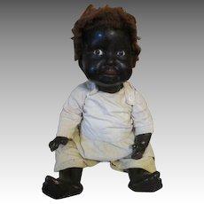 Adorable Huge Vintage Black Baby Doll