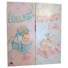1953 Lullaby Cut Out Paper Dolls