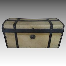 Antique Dome Top Trunk for your Fashion Doll