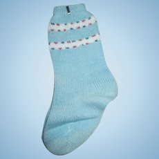 """Vintage Socks for Your 20"""" Dy Dee Baby Doll"""