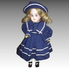 Darling Antique Bisque Head Doll Marked 1902