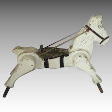 Antique Folk Art Horse for Your Antique Dolls
