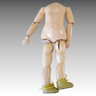 """8.5"""" Composition Doll Body"""