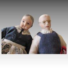 Grandma & Grampa Doll House Dolls