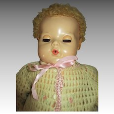 "Rosebud Sweater For Your 20"" Dy-Dee Baby Doll"