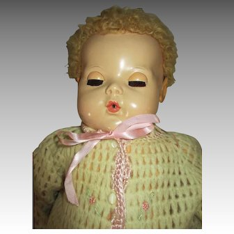 """Rosebud Sweater For Your 20"""" Dy-Dee Baby Doll"""