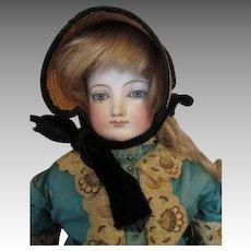 """Sunning 20"""" Antique Bru French Fashion Doll"""