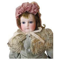 Early French Fashion Bisque Head Doll