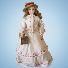 French Fashion Doll with Jumeau Stamped Body