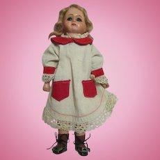 """Petite 9"""" Bebe Tout En Bois Doll"""