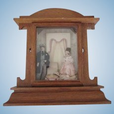 Sweet Clock Box Diorama