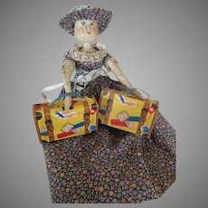 Vintage Candy Container for Your Doll's Suitcase
