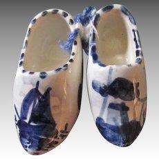 Miniature Delft Shoes