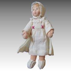 """Miniature 5.5"""" Kathe Kruse Doll"""