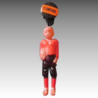 Celluloid Stamford Football Doll