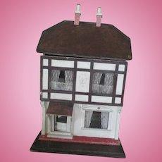 Antique English Tudor Doll House