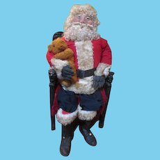 Lifesize Artist Santa Doll - Store Window Display