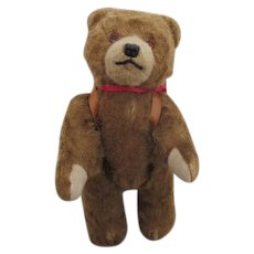 "Sweet 8"" Antique Teddy Bear with Back Pack"