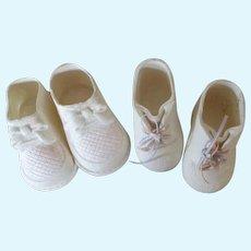 Vintage Rubber Doll Shoes