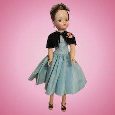 Stunning Cissy in Aqua Tagged Dress
