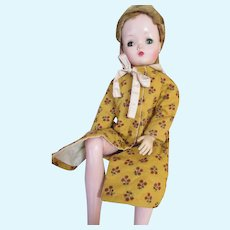 Vintage Quilted Fashion Doll Robe