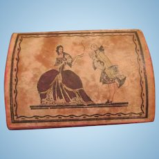 Paper Litho Trunk for Your Antique Doll