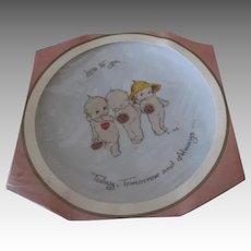Vintage Kewpie Plate in Original Packaging