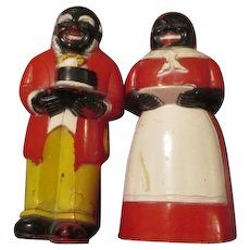 Aunt Jemima and Uncle Moses Salt & Pepper Shakers