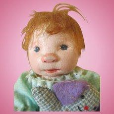 "Adorable 4"" Diane Dengel doll"