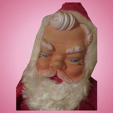 Vintage Rubber Face Santa Claus Doll