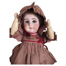 Adorable French Tete Jumeau DEP Bisque Head Doll