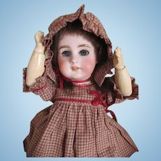 Adorable French Tete Jumeau DEP Bisque Head Doll