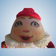 Christmas Humpty Dumpty Artist Doll