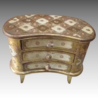 Florentine Chest of Drawers for your Antique French Doll