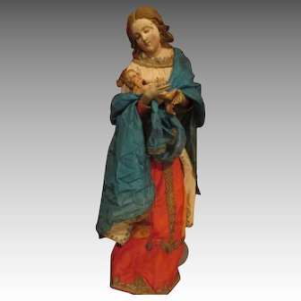 Amazing Creche Madonna and Child - Statement Piece
