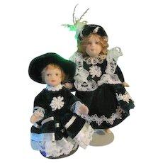 Miniature Dolls for Christmas