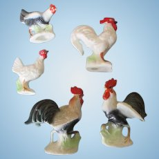 Miniature Chickens for your Doll House or Creche Scene