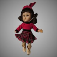 Vintage Vogue Ginny Doll in Skating Outfit